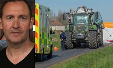 """Wielertoerist (49) sterft bij ongeval met tractor: """"Mario had net weer de drive gevonden na een hartoperatie"""""""
