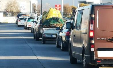 Stormloop op recyclageparken, maar vlot verloop