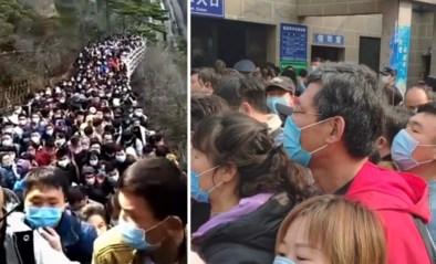 """Lockdown nog maar pas opgeheven en Chinezen trekken er massaal op uit: """"Als sardienen in een blik"""""""
