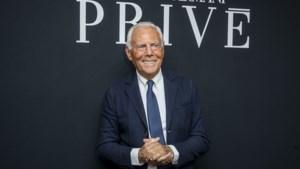 Giorgio Armani wil deze crisis aangrijpen om de modewereld compleet te veranderen