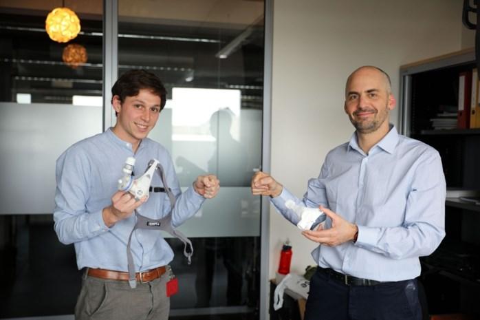 Leuvens bedrijf ontwikkelt een 3D-geprint zuurstofmasker om globaal tekort aan beademingstoestellen aan te pakken