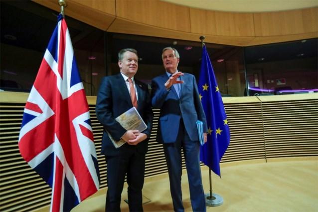 Barnier en Frost buigen zich volgende week over verloop onderhandelingen Brexit