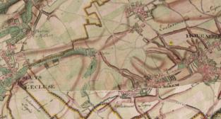 Natuurreservaat Rosdel omvat sporen van pestdorp