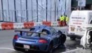 Miljonair crasht zijn peperdure Porsche in de verlaten straten van Manhattan en dat is lang niet de eerste keer