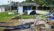 Tropische cycloon Harold raast over Fiji