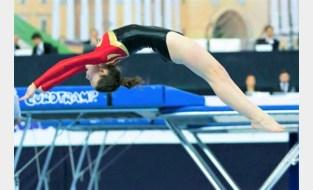 Maïté De Wilde van Gymclub Altis Eeklo heeft selectie beet voor EK tumbling in Göteborg