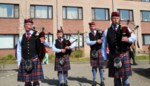Red Cross Pipe Band concerteert aan woon-zorgcentrum Sint-Jozef