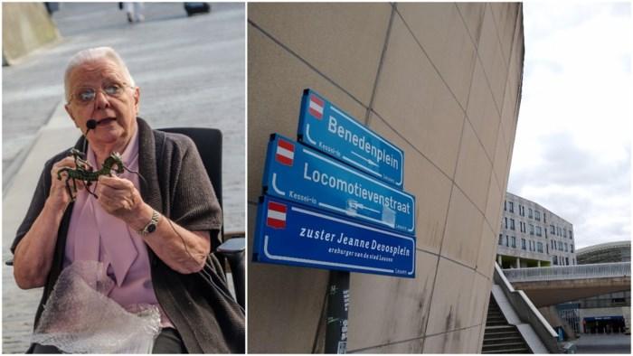 Zuster Jeanne Devos krijgt eigen plein in Leuven, al is daarvoor wel wat creativiteit nodig