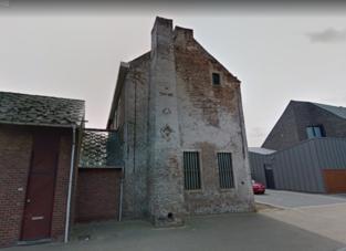 Kruis en ruit van brouwerij verschijnen op reconstructie