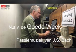 VIDEO. Bach op beiaard voor de Goede Week