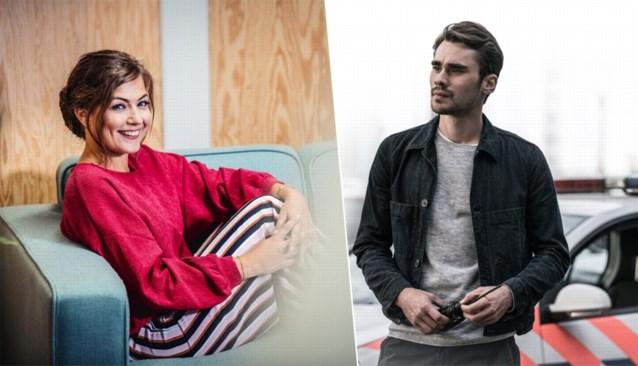 Frances Lefebure is samen met acteur Boris Van Severen