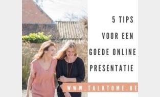 Ilse en Mariska geven tips voor wie online moet presenteren
