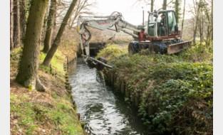 Provincie onderhoudt haar waterlopen