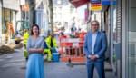 Corona zorgt versneld voor nieuwe bestrating in Koning Albertstraat