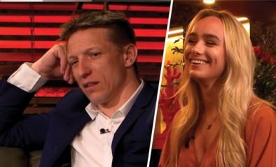 """Gewezen Rode Duivel Wesley Sonck met dochter Amy in 'Gert Late Night': """"Ja, ze krijgt berichtjes van ex-collega's"""""""
