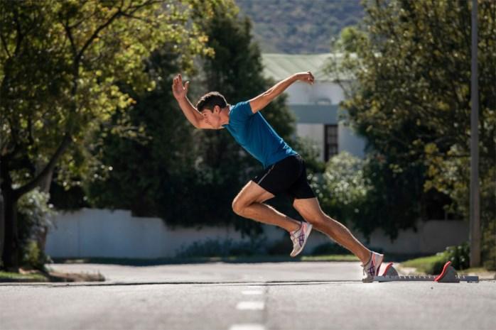 """Tienkamper Thomas Van der Plaetsen zit in zijn kot op 13.000 kilometer van België: """"Sommigen keken raar op toen ze mij door straat zagen sprinten"""""""