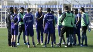 Anderlecht gaat opnieuw trainen