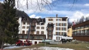 """Schade aan Zwitsers Intersoc-hotel na brand is enorm: """"Geen slachtoffers dankzij coronavirus"""""""