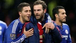 """Hazard was de beste speler in de Premier League volgens Juan Mata: """"We trainden samen, dan weet je pas hoe goed hij écht is"""""""
