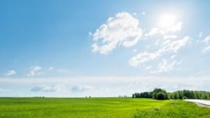 Na frisse start opnieuw zonnige dag