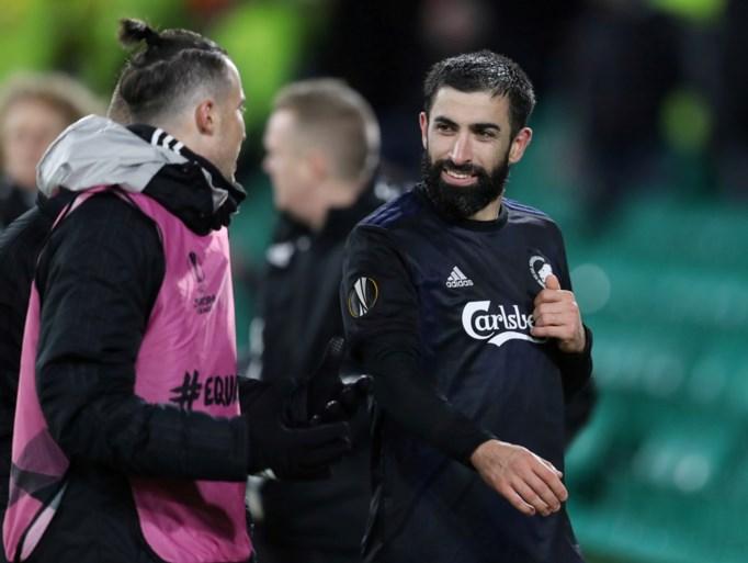 FC Kopenhagen-spits Santos moet drie speeldagen brommen na vloeren van agent