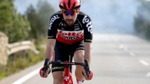 """Thomas De Gendt krijgt het stilaan moeilijk: """"Ik wil nog vijftig koersen rijden in drie maanden, maar ik vrees ervoor"""""""