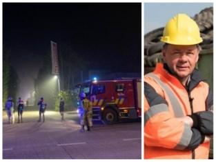 """Zaakvoerder Remondis na brand: """"Er was felle rookontwikkeling, maar niet schadelijk"""""""