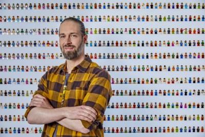 """Bas uit 'Lego masters' verdient zijn boterham door met blokjes te spelen: """"Ik leg mijn ontwerpen altijd aan mijn dochter voor"""""""