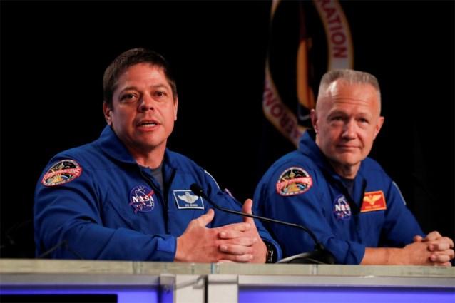 Astronauten eind mei voor het eerst met SpaceX naar ISS