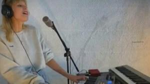 Zo zag het optreden van Angèle eruit op het megaconcert van Lady Gaga