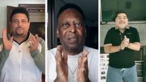 VIDEO. Pélé, Maradona, Ronaldo,...: indrukwekkend ensemble van voetbalsterren brengt hulde aan alle zorgverleners tijdens coronacrisis
