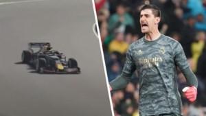 Drukke virtuele dag voor Thibaut Courtois: eerst 15de plek in Formule 1 GP, nadien overtuigende NBA-zege