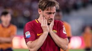 """Totti over de vertroebelde relatie met 'zijn' AS Roma: """"Ik zet geen voet meer op de club, mijn hart bloedt teveel"""""""