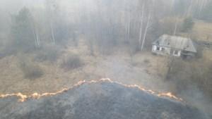 Oekraïne zet 1.400 brandweerlieden in tegen branden Tsjernobyl