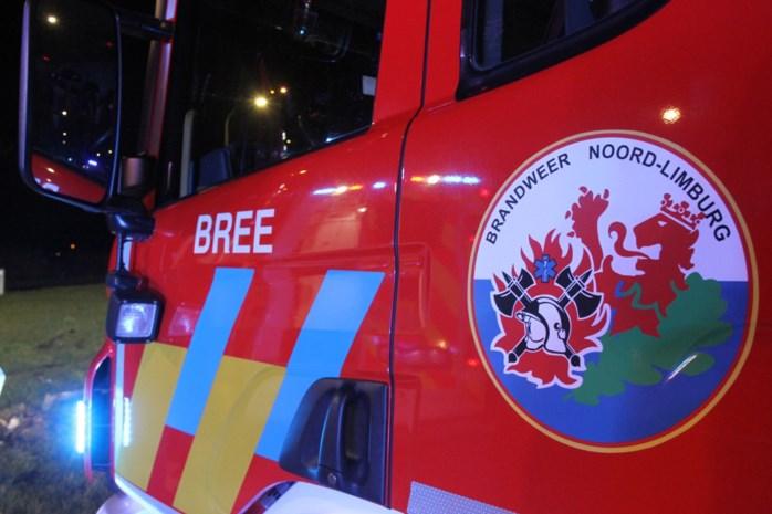 Kortstondige, maar hevige containerbrand in Bree