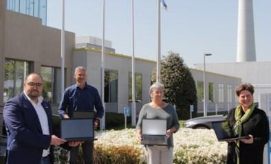 117 laptops van Bomenaars en bedrijven