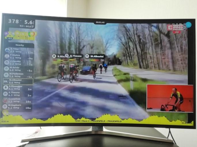 Met Stefan Küng wint opnieuw tijdrijder in virtuele Ronde van Zwitserland