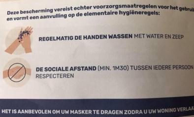 In Sint-Joost-ten-Node is afstand laten van een meter en 30 centimeter genoeg... of toch niet