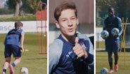 VIDEO. Ballen ontsmetten en elkaar niet kruisen: zo verloopt een voetbaltraining van Anderlecht in quarantaine-tijden