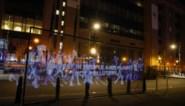 Klimaatactivisten voeren hologrammenbetoging in Brussel en wereldwijde online actie