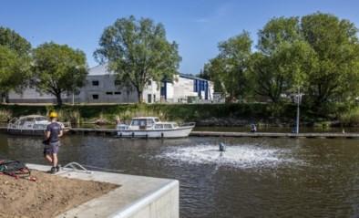 Beluchters helpen vissen in Schelde, ook Aquafin en Civiele Bescherming ingezet