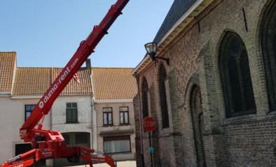 Herstellingen aan dakoud klooster