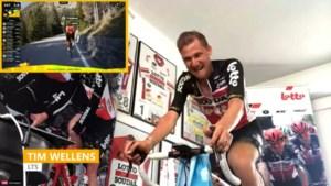"""Rohan Dennis rijdt eerste Belg op 6 minuten en wint slotrit virtuele Ronde van Zwitserland: """"Niet zonder pijn, maar daar hou ik van"""""""