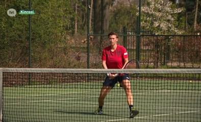 Nederlandse tennisster Demi Schuurs traint pal op de grens in Kessenich
