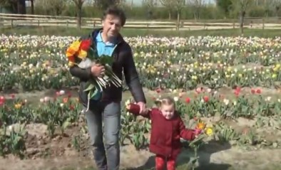 Tulpenweelde aan de Geule