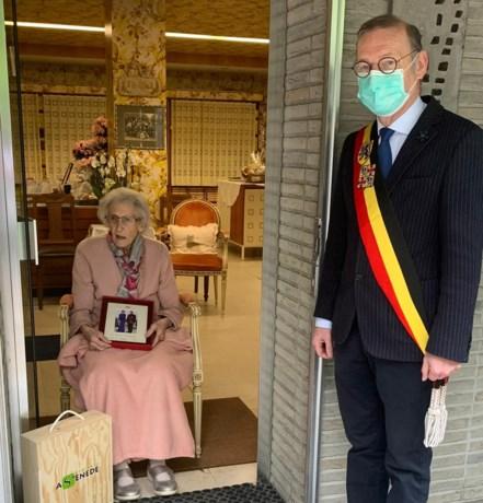 Cecilia viert 100ste verjaardag thuis in haar kot