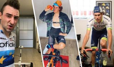 """Ook in het buitenland mogen ze straks weer buiten fietsen na strenge coronamaatregelen: """"Ik benijd de Nederlanders en de Belgen"""""""
