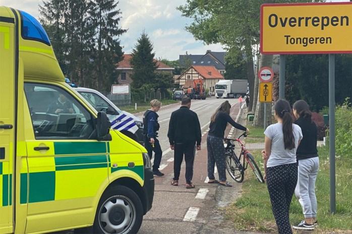 Fietsster van 12 naar ziekenhuis na ongeval in Overrepen