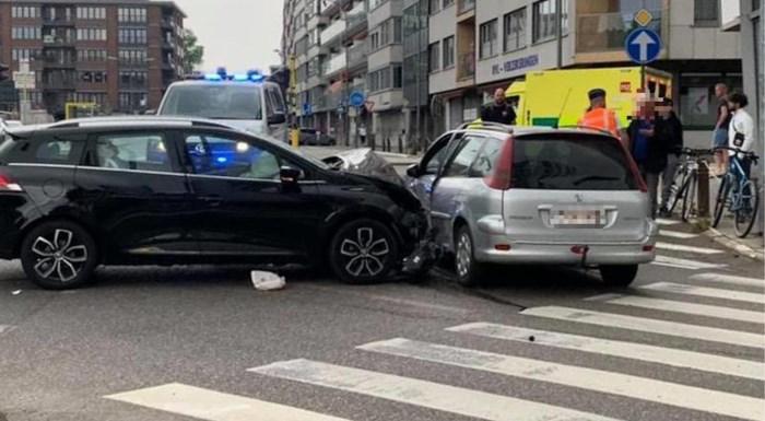 Twee lichtgewonden na ongeval in Tongeren
