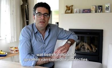 Viroloog en Denderleeuwenaar Steven Van Gucht steekt dorpsgenoten een hart onder de riem